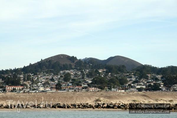 Морро-бэй - провинциальный город на побережье Тихого океана / США