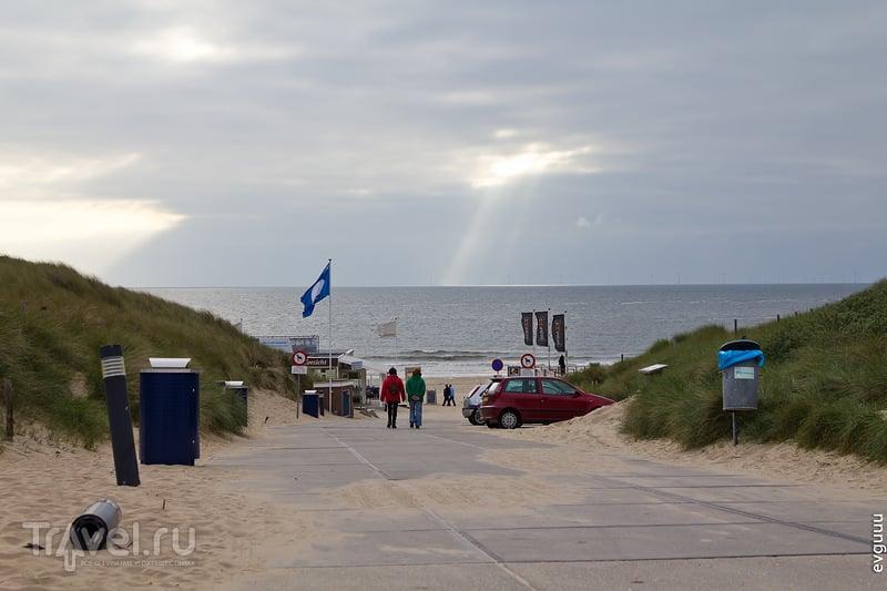 Северное море. Местечко Zeeweg и район Схевенинген / Нидерланды