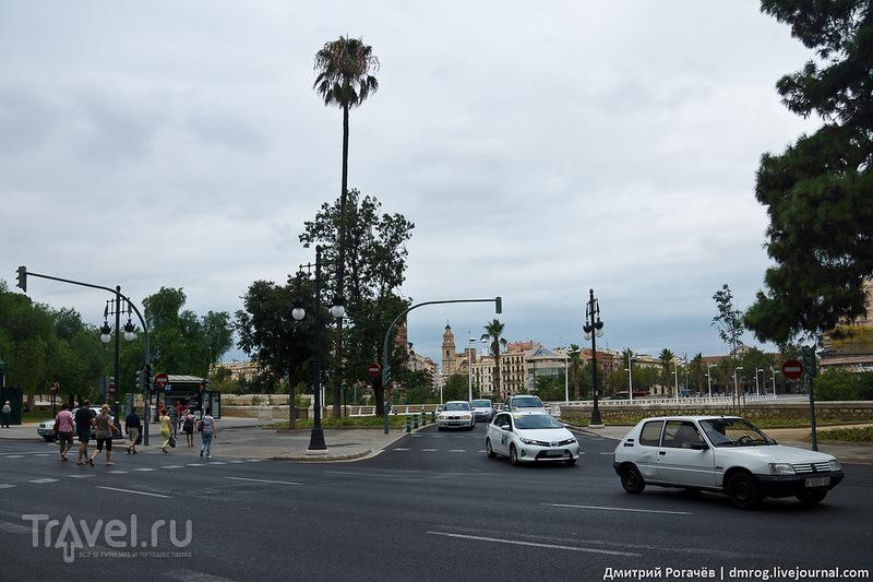 В городе Валенсия, Испания / Фото из Испании