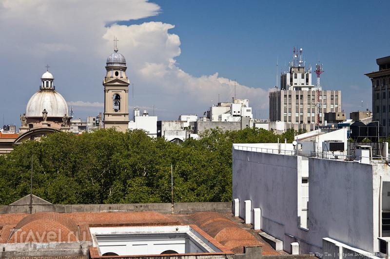 Колокольня кафедрального собора Монтевидео, Уругвай / Фото из Уругвая