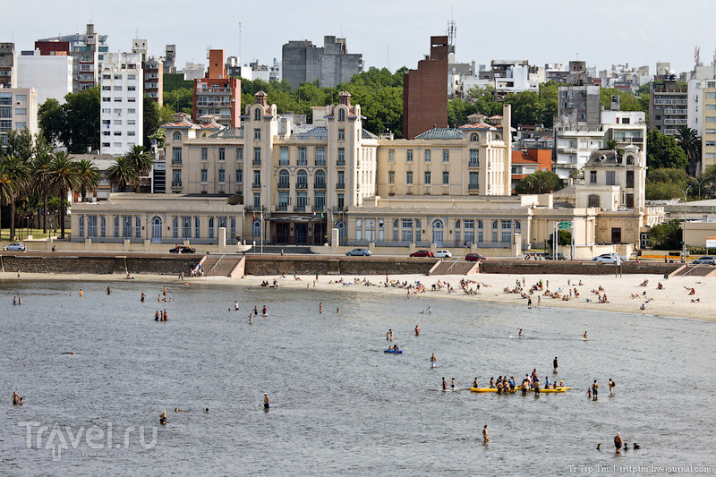 Набережная Рамбла в Монтевидео, Уругвай / Фото из Уругвая