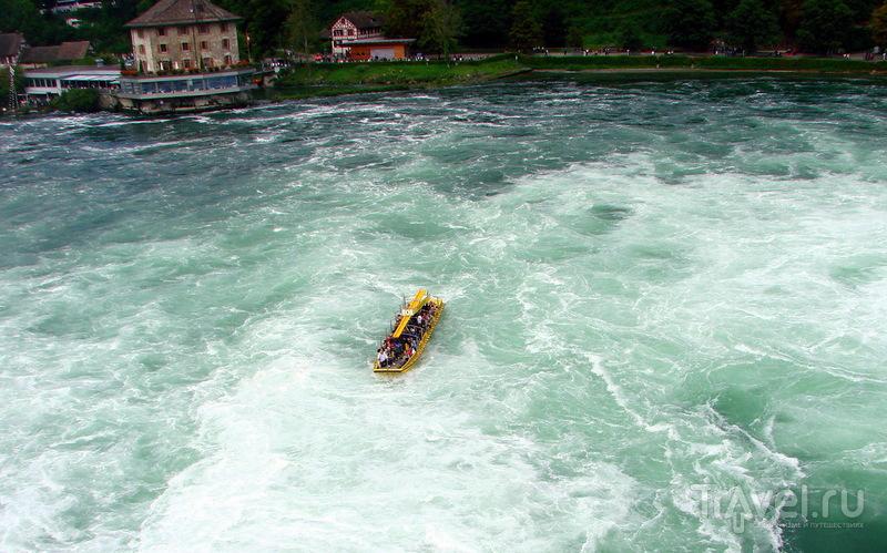 Рейнский водопад / Швейцария