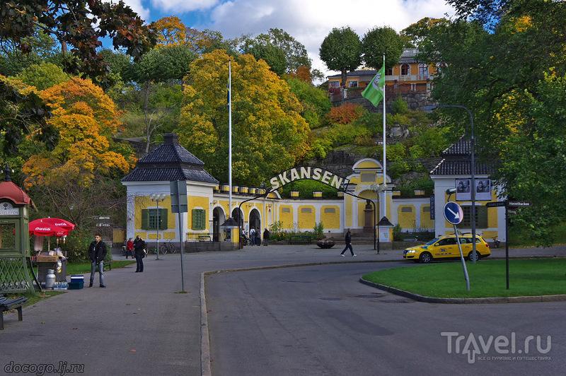 Вживую по Скансену / Швеция