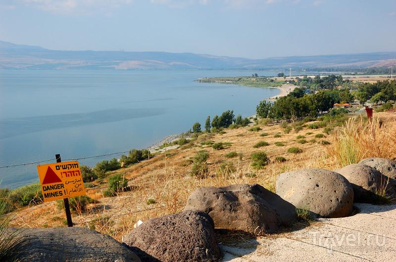 Паломничество в Святую Землю. Кинерет и Голаны / Израиль
