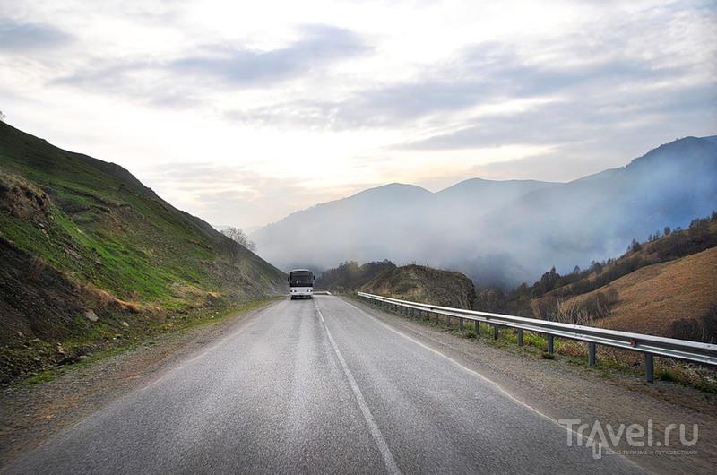 Перевал Кум-Баши в Карачаево-Черкесии, Россия / Фото из России