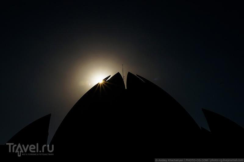 Храм Лотоса в Дели / Индия