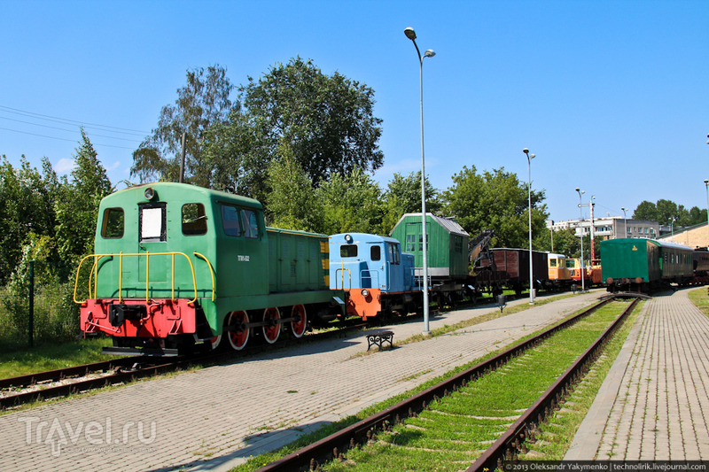 Latvijas dzelzceļa vēstures muzejs - Музей истории Латвийской железной дороги / Латвия