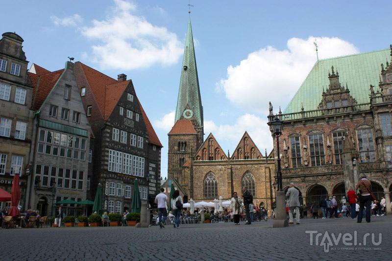 Рыночная площадь в Бремене, Германия / Фото из Германии