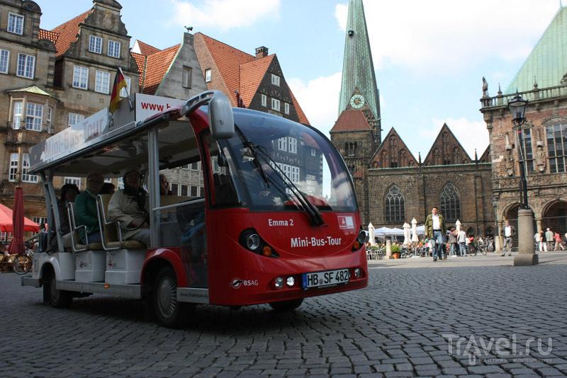 Рыночная площадь, город Бремен, Германия / Фото из Германии