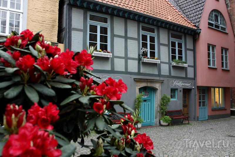 Квартал Шнур в городе Бремен, Германия / Фото из Германии