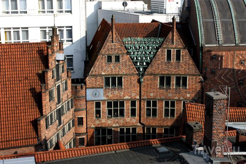 Вид с террасы Atlantinc Grand Hotel, Бремен, Германия / Фото из Германии