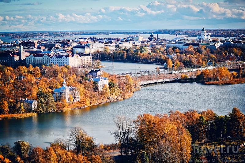 В городе Хельсинки, Финляндия / Фото из Финляндии
