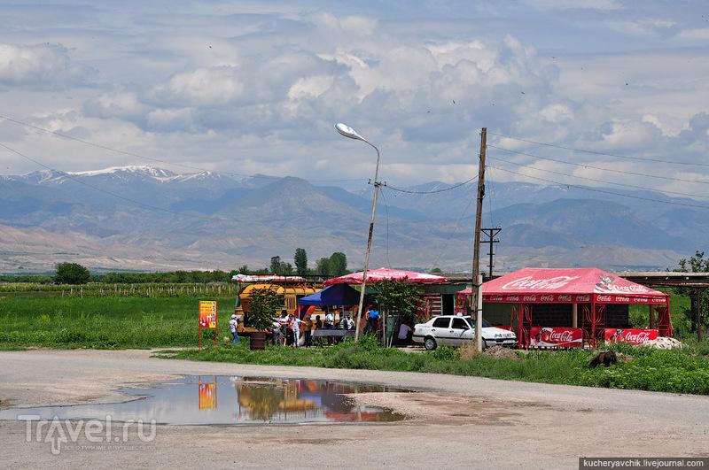 Араратская долина - единственный плодородный участок Армении. / Армения