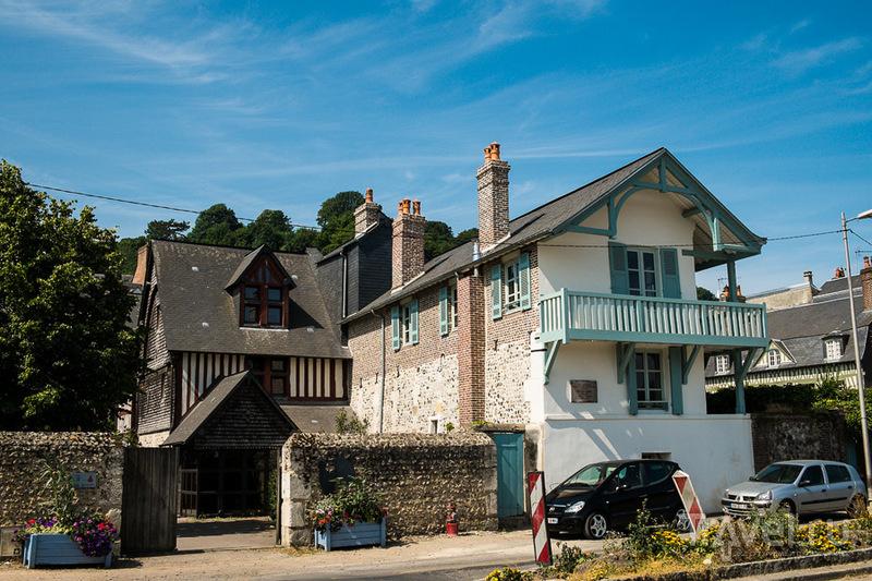 Музей композитора Эрика Сати в Онфлере, Франция / Фото из Франции