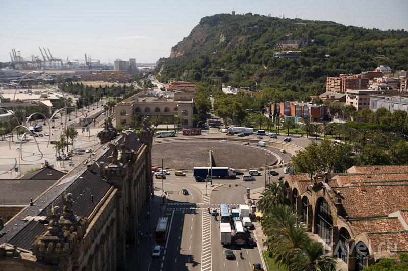 Площадь Драссанес в Барселоне, Испания / Фото из Испании