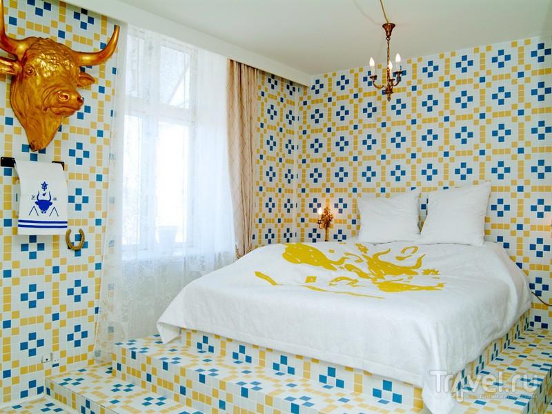 Интерьеры отеля Fox - символ воплощенного принципа свободы мышления / Дания