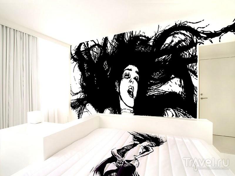 Каждая комната отеля Fox - законченное произведение искусства / Дания