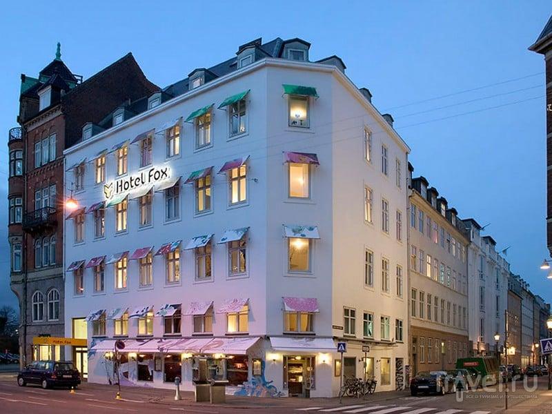 Расположенный в центральной части Копенгагена отель Fox  / Дания