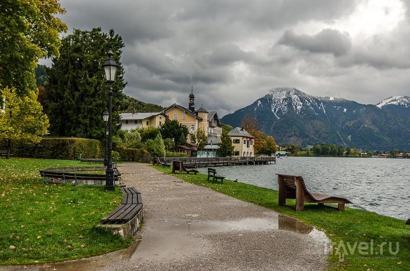 Озеро Tegernsee (Тегернзее) в Баварии, Германия / Фото из Германии