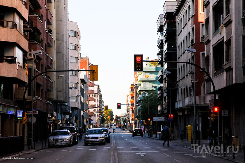 В городе Жирона, Испания / Фото из Испании