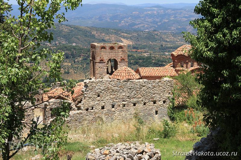 Заброшенный Мистрас / Фото из Греции