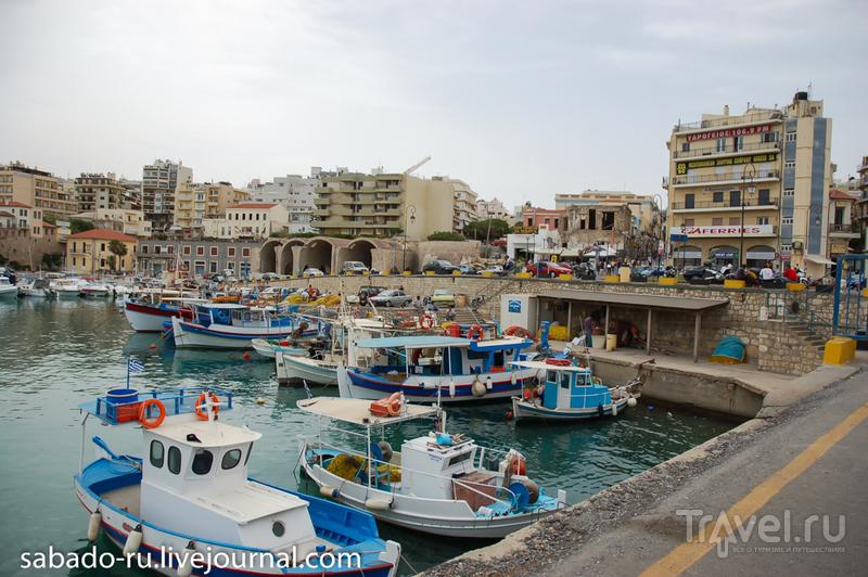 В городе Ираклион, Греция / Фото из Греции