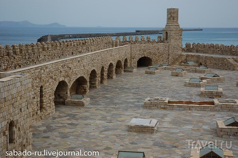 Крепость Кулес в Ираклионе, Греция / Фото из Греции