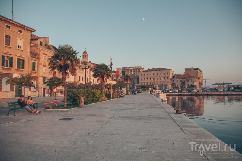 В городе Шибеник, Хорватия / Фото из Хорватии