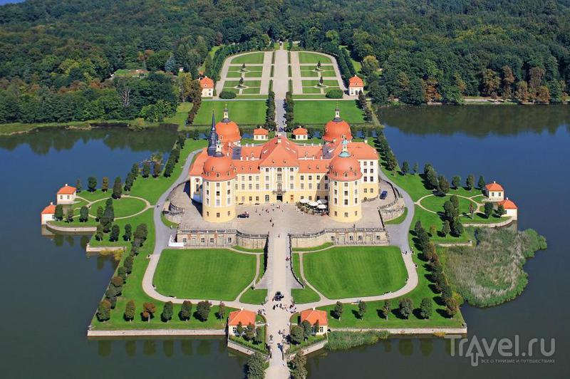 Замок Moritzburg, Германия / Фото из Германии