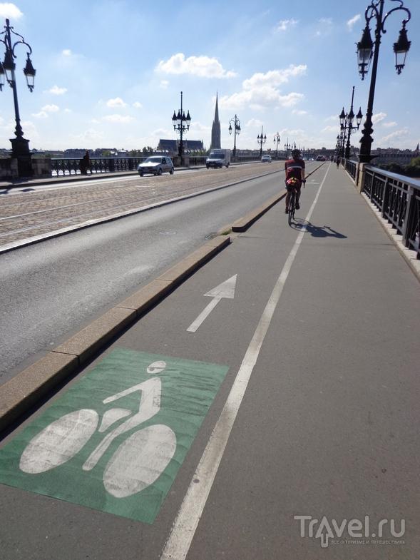 Велодорожки в Бордо. / Испания