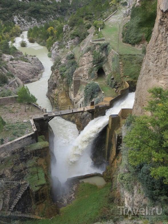 Вид с плотины. / Испания