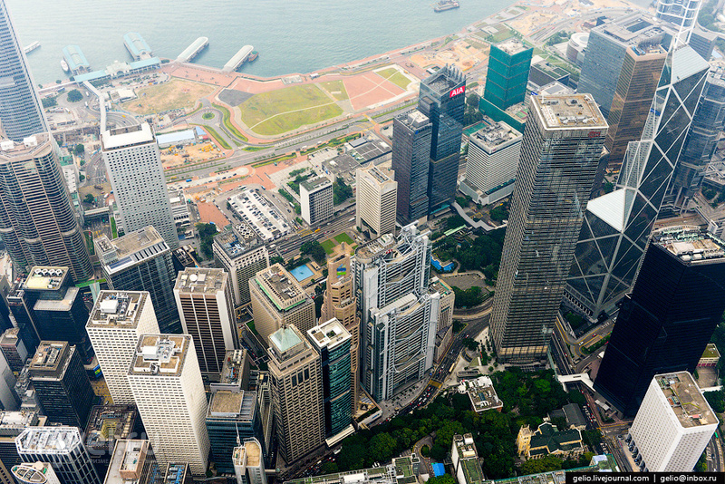Гонконг с высоты / Фото из Гонконга