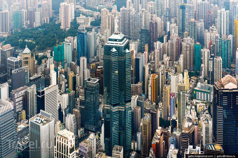 Небоскреб The Center в Гонконге / Фото из Гонконга
