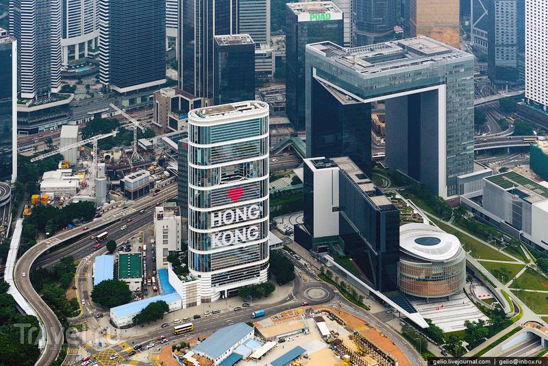 Небоскреб Citic Tower в Гонконге / Фото из Гонконга