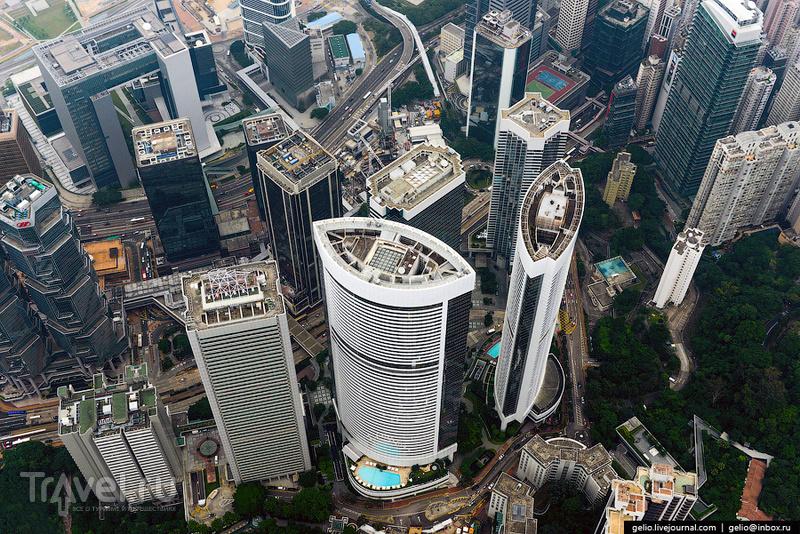 "Район станции метро ""Admiralty"" в Гонконге / Фото из Гонконга"