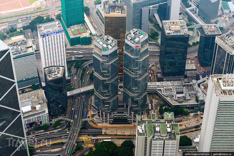 Небоскреб Lippo Centre в Гонконге / Фото из Гонконга