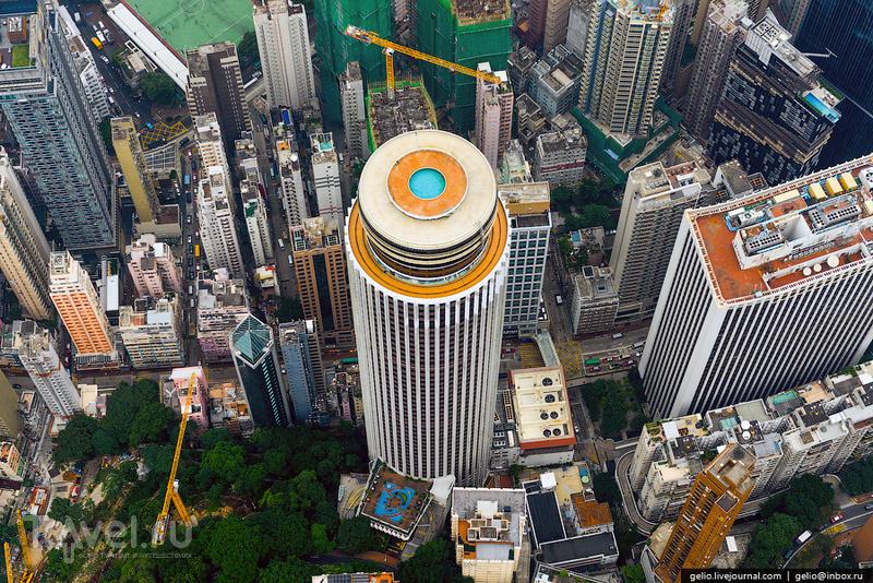 Небоскреб Hopewell Centre в Гонконге / Фото из Гонконга