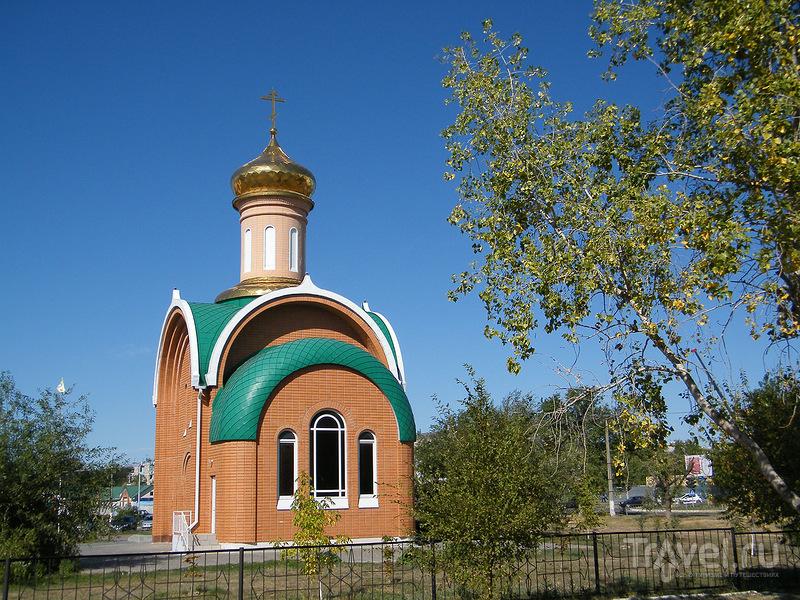 Храм-часовня Сергея Радонежского / Фото из России