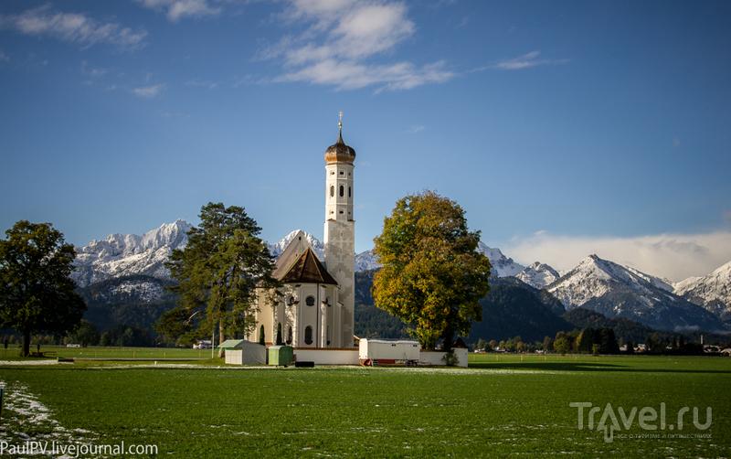 Бавария. Окрестности Фюссена / Германия