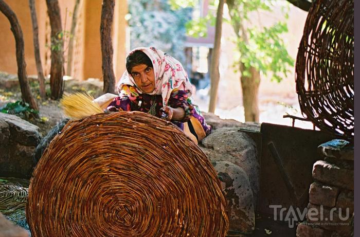 Деревня Абьяне в Иране / Иран