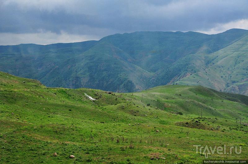 Природа в окрестностях деревни Гарни / Армения