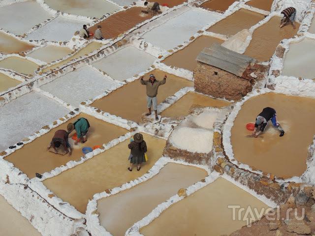 Террасы Морай, соляные копи Марас и Мачу-Пикчу / Боливия