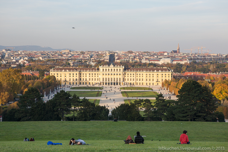В тринадцатом районе Хитцинг (нем. Hietzing), Вена, Австрия / Фото из Австрии