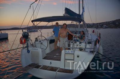 Эгейское море. Парос - Иос - Санторини - Миконос - Сирос / Греция