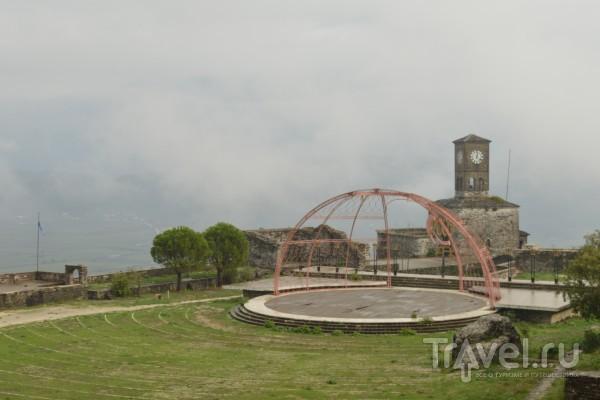Гирокастра - старинный албанский город и крепость / Албания
