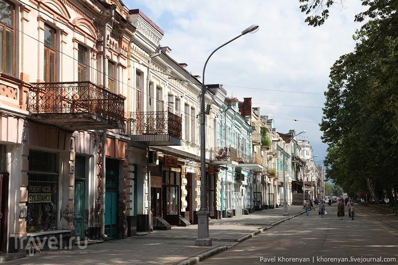 В городе Владикавказ, Россия / Фото из России
