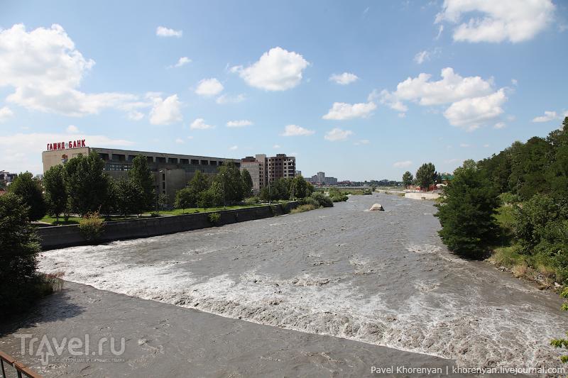 Река Терек во Владикавказе, Россия / Фото из России