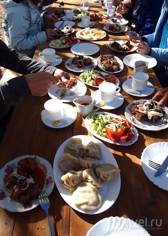 Еда в ресторанах Грузии / Грузия