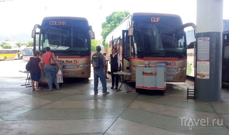Междугородние автобусы в Мексике / Мексика