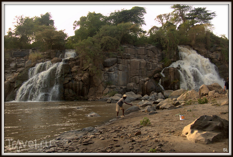 Водопад  Аваш в Эфиопии / Фото из Эфиопии